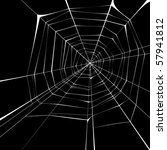 spider web | Shutterstock .eps vector #57941812