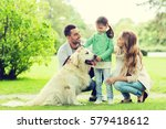 family  pet  domestic animal... | Shutterstock . vector #579418612
