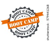 boot camp stamp.sign seal.logo | Shutterstock .eps vector #579441268