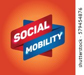 social mobility arrow tag sign. | Shutterstock .eps vector #579454876