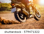man extreme sport riding... | Shutterstock . vector #579471322
