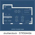 office interior project top...   Shutterstock .eps vector #579504436