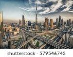 Hdr Photo Of Dubai Skyline Wit...