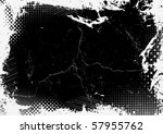 grunge background. vector. | Shutterstock .eps vector #57955762
