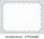 Blank Guilloche Certificate...