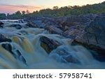 Horizontal Photo Of Rapids On...