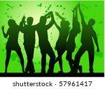 party  grunge background | Shutterstock .eps vector #57961417