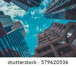 skyscraper buildings and sky... | Shutterstock . vector #579620536
