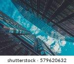skyscraper buildings and sky... | Shutterstock . vector #579620632