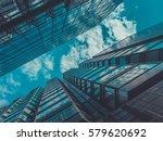 skyscraper buildings and sky... | Shutterstock . vector #579620692