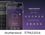 user interface design template... | Shutterstock .eps vector #579621016
