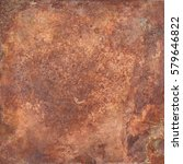 aged copper plate texture  old...   Shutterstock . vector #579646822