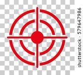 target icon. vector... | Shutterstock .eps vector #579647986