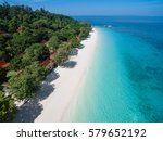 top view of isolated beautiful... | Shutterstock . vector #579652192