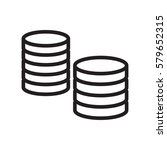 money icon illustration... | Shutterstock .eps vector #579652315