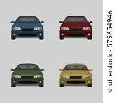 modern passenger car. auto...   Shutterstock .eps vector #579654946