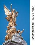 Detail Of Victoria Memorial In...