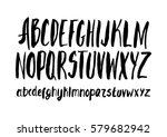 graphic font for your design.... | Shutterstock .eps vector #579682942