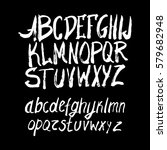 graphic font for your design.... | Shutterstock .eps vector #579682948