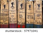 handmade welcome plaques for... | Shutterstock . vector #57971041