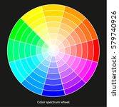 vector color spectrum  itten 12