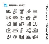 icon. currency. money. business.... | Shutterstock .eps vector #579743938