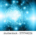 best internet concept of global ... | Shutterstock . vector #579744226