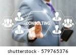 consulting business social... | Shutterstock . vector #579765376
