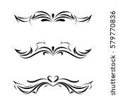 tatoo. element for design.... | Shutterstock .eps vector #579770836