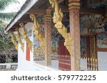 Detail Of Wat Nong Temple In...