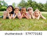 Kids As Friends Meadow Resting - Fine Art prints
