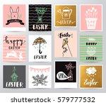 easter illustration   Shutterstock .eps vector #579777532