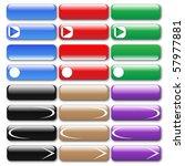 web buttons | Shutterstock .eps vector #57977881