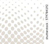 geometric circles gradient... | Shutterstock .eps vector #579784192