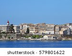 Old Corfu Town Greece Summer...
