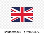 an illustrated country flag of  ... | Shutterstock .eps vector #579803872