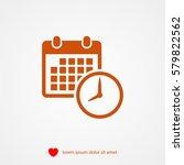 date icon | Shutterstock .eps vector #579822562