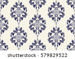 seamless background with... | Shutterstock .eps vector #579829522