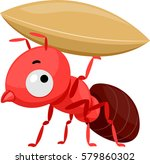 mascot illustration featuring a ... | Shutterstock .eps vector #579860302