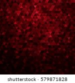 abstract colorful red vector... | Shutterstock .eps vector #579871828