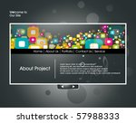 website design template  vector ...