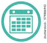 month calendar grainy textured...   Shutterstock . vector #579886942