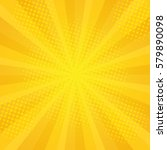 comics rays background with...   Shutterstock .eps vector #579890098