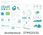 infographic elements big set.... | Shutterstock .eps vector #579923155
