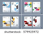 business vector template.... | Shutterstock .eps vector #579925972