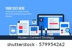 flat design vector concept for... | Shutterstock .eps vector #579954262
