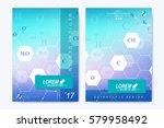 modern vector template for... | Shutterstock .eps vector #579958492