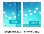 modern vector template for... | Shutterstock .eps vector #579958552
