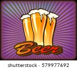 vector illustration of a beer... | Shutterstock .eps vector #579977692