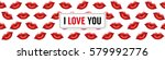 i love you background with... | Shutterstock .eps vector #579992776
